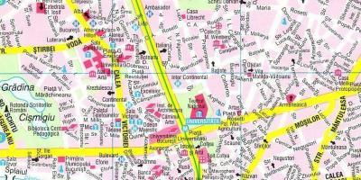 Bukarest Terkep Terkepek Bukarest Romania